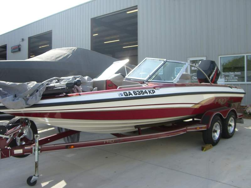 2002 pro craft 215 combo 21 fish and ski used excellent for Procraft fish and ski