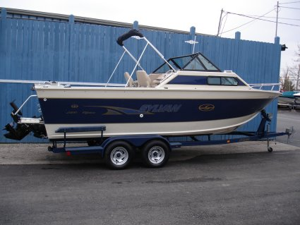 1999 Sylvan 2300 Offshore 23 Aluminum Fishing Used ...