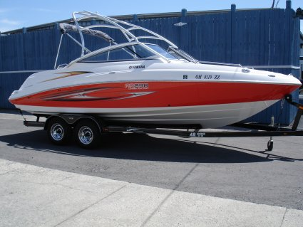 2007 yamaha ar230 ho 23 jet boat used excellent for Yamaha boat cover