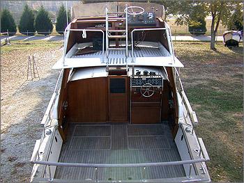 1972 Trojan Sea Raider 30 Cabin Cruiser Over 30 Used