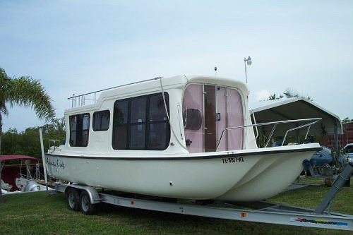 1997 adventure craft land sea 28 houseboat used for Used adventure craft 28