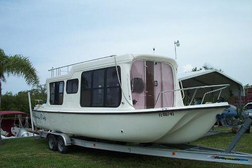 1997 Adventure Craft Land Amp Sea 28 Houseboat Used