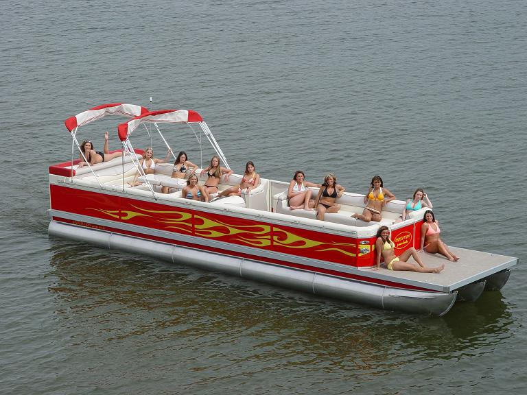 2007 Evolution Power Boat 34 34 Pontoon New Avidboater Com