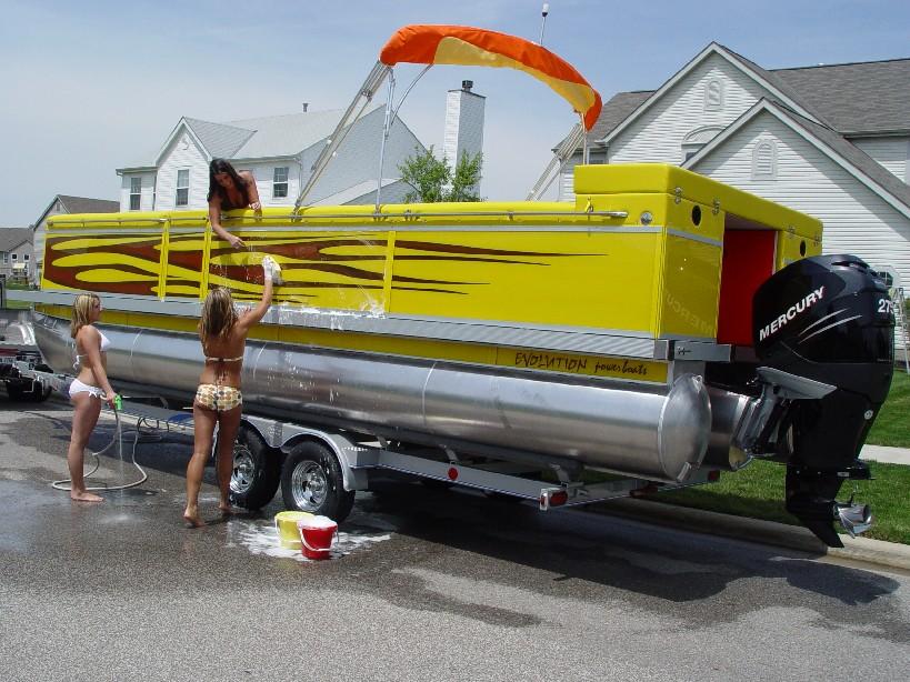 2007 Evolution Power Boats 26 26 Deck Boat New Avidboater Com
