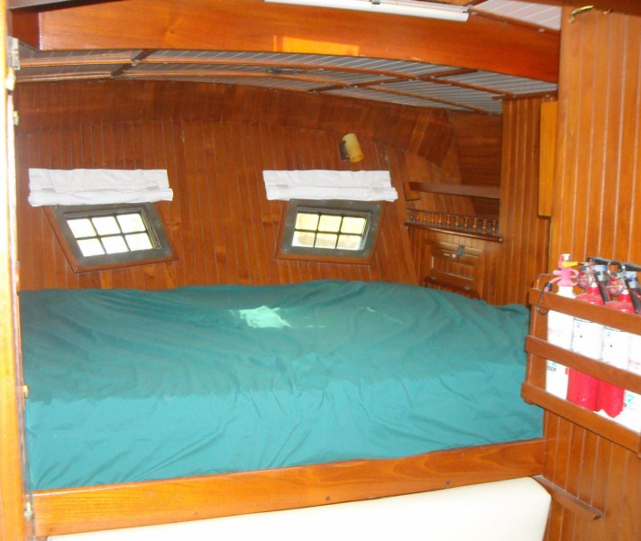 1983 Vagabond Cutter Ketch 42 Sail Over 30' Used