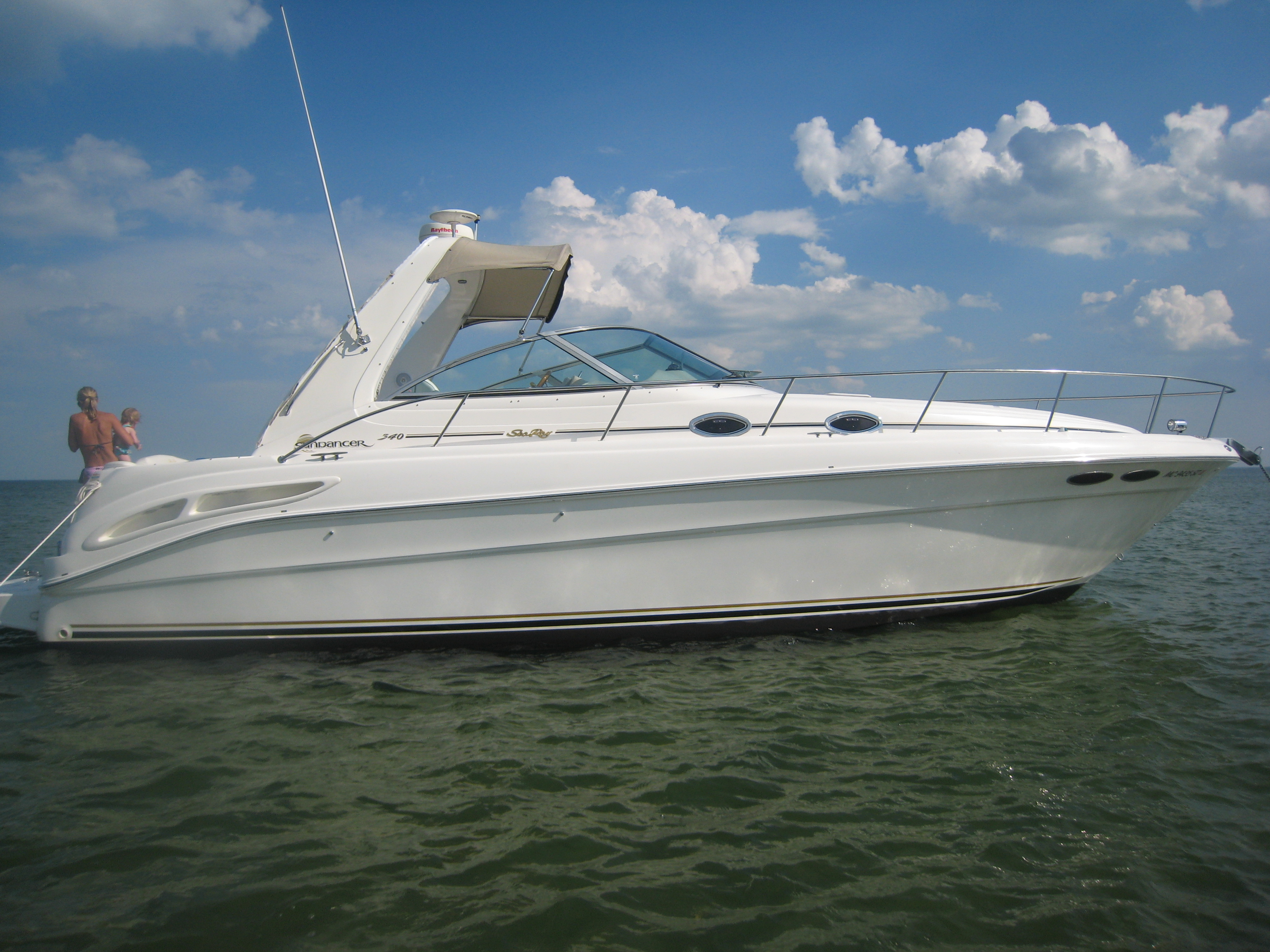 2000 sea ray sundancer 34 cabin cruiser over 30 39 used for 2000 dollar cabin
